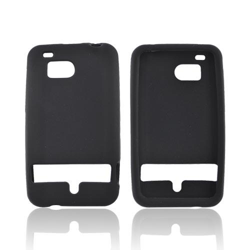 HTC Thunderbolt Silicone Case - Black