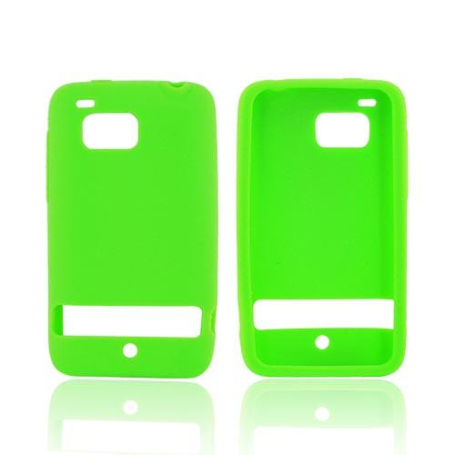 HTC Thunderbolt Silicone Case - Green
