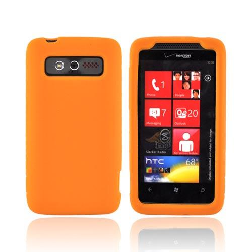 HTC Trophy Silicone Case - Orange