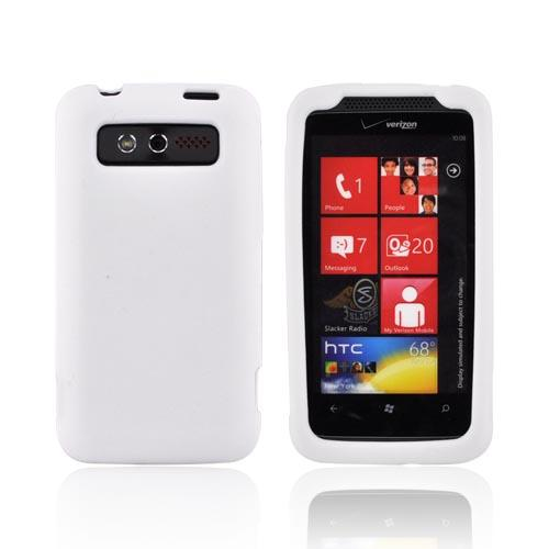 HTC Trophy Silicone Case - White