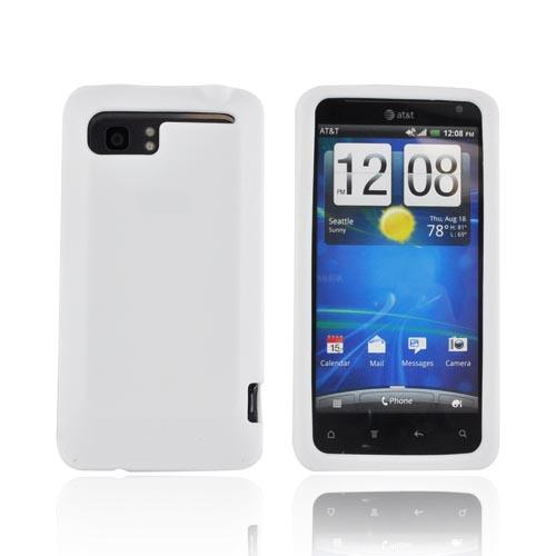 HTC Vivid Silicone Case - Solid White