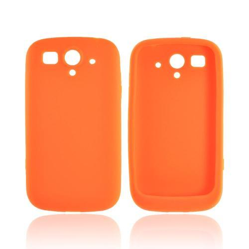 T-Mobile Huawei myTouch 2 Silicone Case - Orange