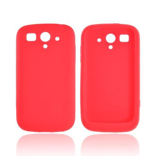 T-Mobile Huawei myTouch 2 Silicone Case - Red
