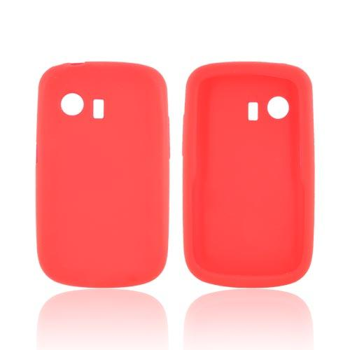 Huawei Pinnacle M635 Silicone Case - Red