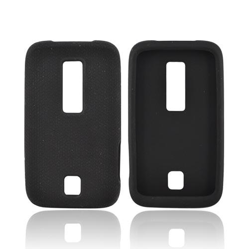 Huawei Ascend M860 Silicone Case - Textured Black