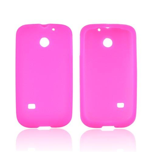 Huawei Ascend 2/ Prism/ Summit M865 Silicone Case - Hot Pink