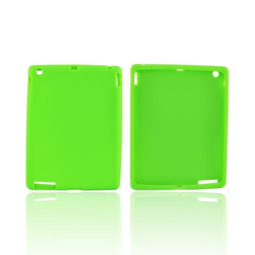 Apple iPad 2/ New iPad Silicone Case - Neon Green