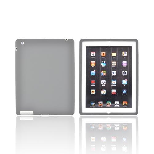 Apple iPad 2, New iPad Silicone Case - Gray