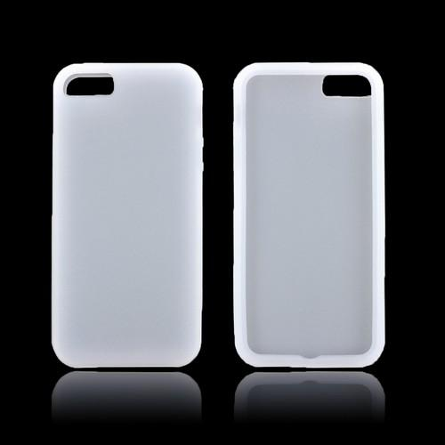 Apple iPhone 5/5S Silicone Case - Frost White