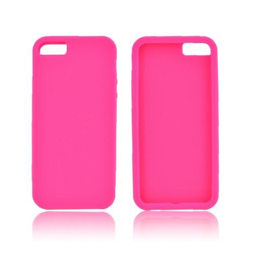 Apple iPhone 5/5S Silicone Case - Hot Pink