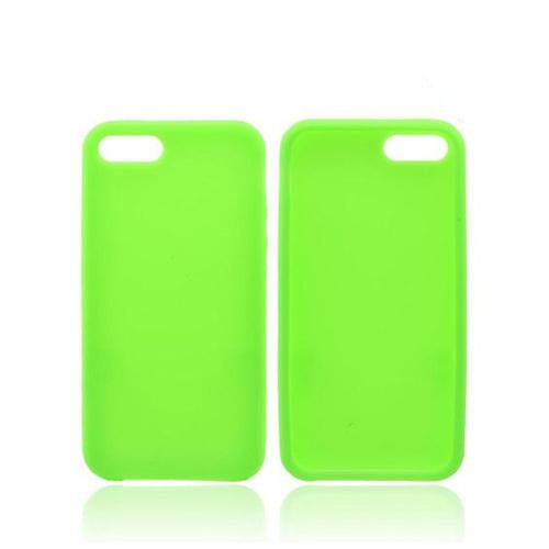 Apple iPhone 5/5S Silicone Case - Neon Green