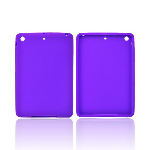 Purple Silicone Skin Case for Apple iPad Mini/ iPad Mini 2