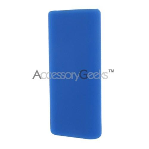 Apple iPod Mini Shuffle 3 Silicone Case, Rubber Skin - Blue