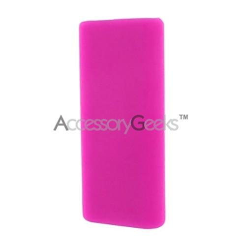 Apple iPod Mini Shuffle 3 Silicone Case, Rubber Skin - Hot Pink