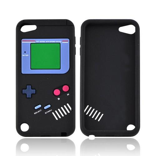 Apple iPod Touch 5 Silicone Case - Black Retro Pocket Gamer