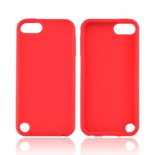 Apple iPod Touch 5 Silicone Case - Red