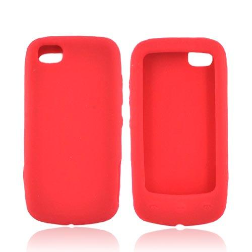 Luxmo LG Sentio GS505 Silicone Case - Red