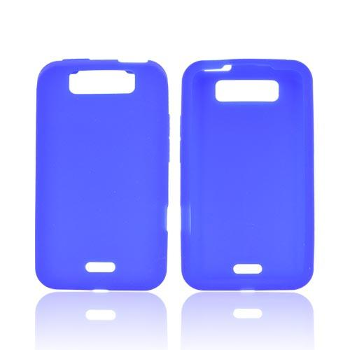 LG Viper 4G LTE/ LG Connect 4G Silicone Case - Blue