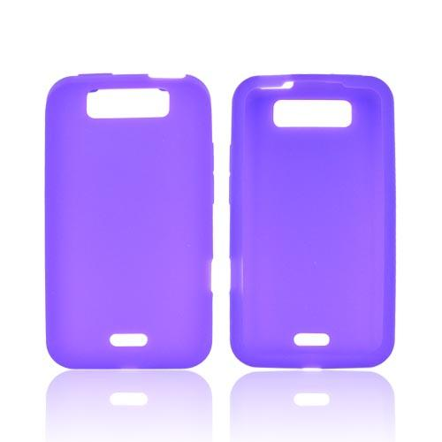 LG Viper 4G LTE/ LG Connect 4G Silicone Case - Purple