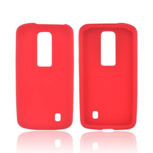 LG Nitro HD Silicone Case - Red
