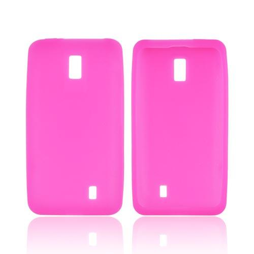 LG Spectrum Silicone Case - Hot Pink