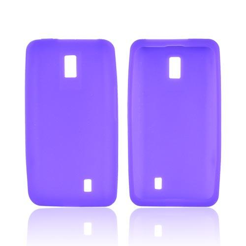 LG Spectrum Silicone Case - Purple