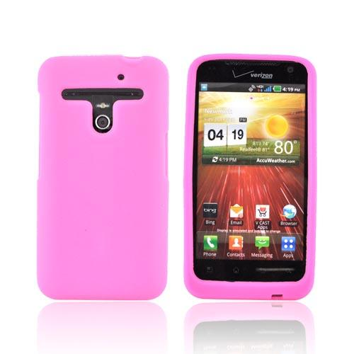 LG Revolution, LG Esteem Silicone Case - Hot Pink
