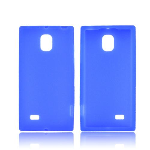 LG Optimus VS930 (Optimus LTE II) Silicone Case - Blue