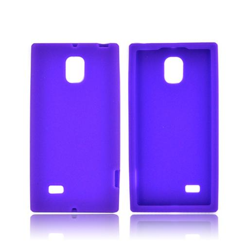 LG Optimus VS930 (Optimus LTE II) Silicone Case - Purple