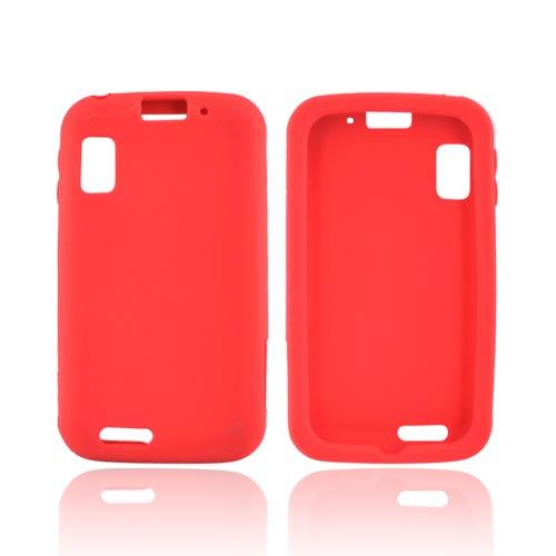 Motorola Atrix MB860 Silicone Case - Red