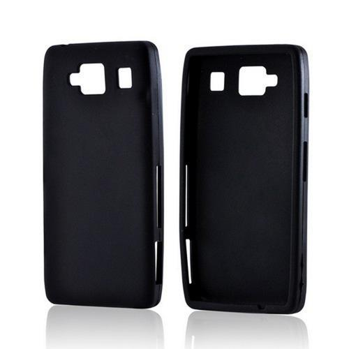 Black Silicone Case for Motorola Droid RAZR MAXX HD