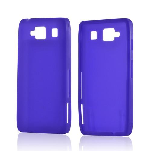 Purple Silicone Case for Motorola Droid RAZR MAXX HD