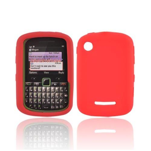 Luxmo Motorola Grasp WX404 Silicone Case - Red