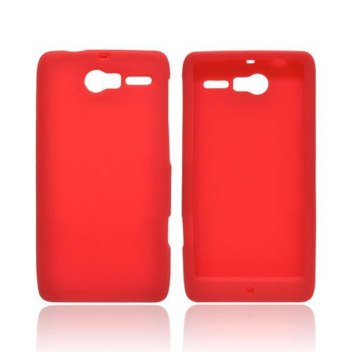 Motorola Droid RAZR M Silicone Case - Red