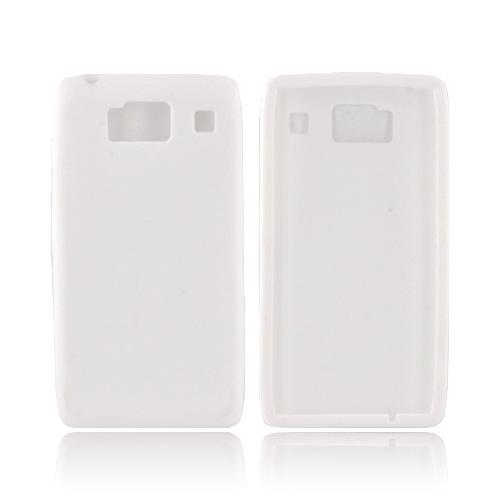 Motorola Droid RAZR HD Silicone Case - White