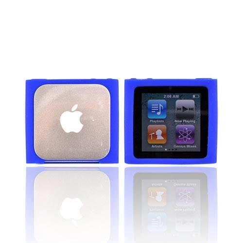 Luxmo Apple iPod Nano 6 Silicone Case - Blue