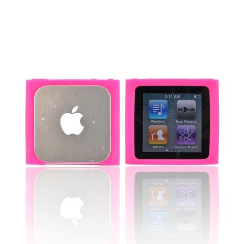 Luxmo Apple iPod Nano 6 Silicone Case - Hot Pink