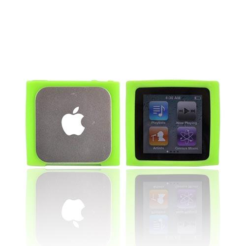 Luxmo Apple iPod Nano 6 Silicone Case - Neon Green
