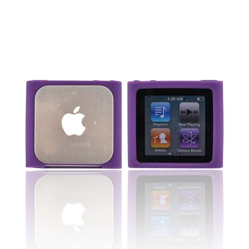 Luxmo Apple iPod Nano 6 Silicone Case - Purple