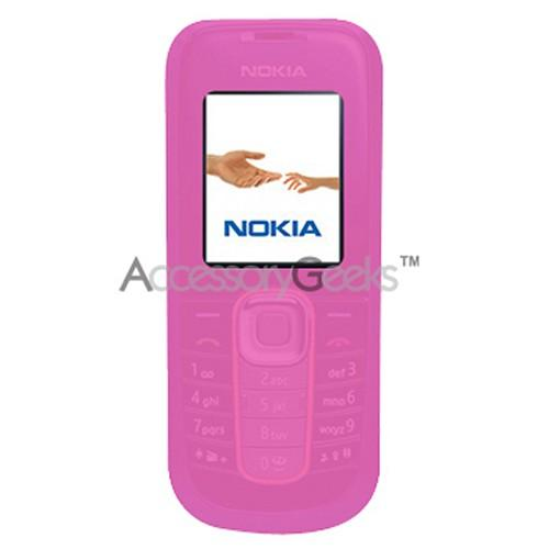 Nokia 2600 Silicone Case, Rubber Skin - Hot Pink
