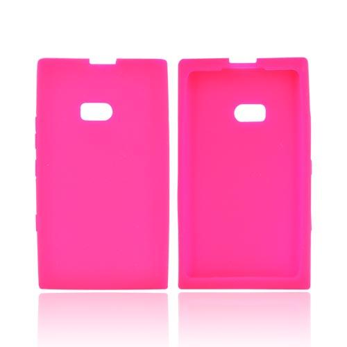 Nokia Lumia 900 Silicone Case - Hot Pink