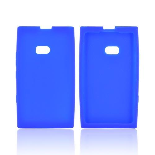 Nokia Lumia 900 Silicone Case - Blue