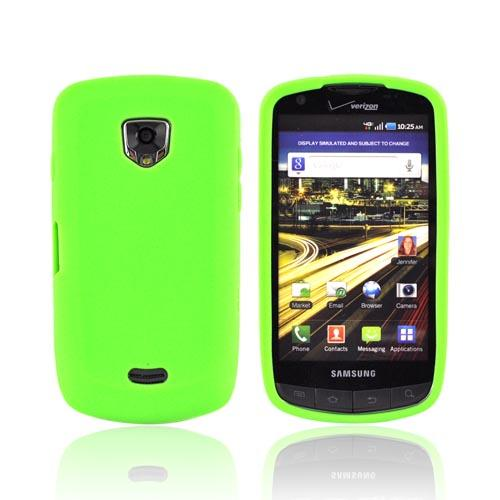 Samsung Droid Charge Silicone Case - Green
