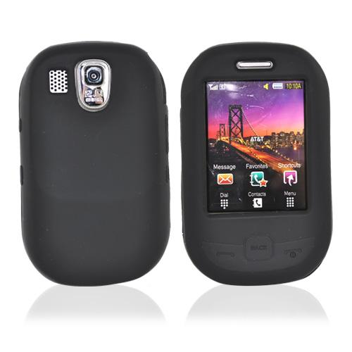 Samsung Flight A797 Silicone Case, Rubber Skin - Black