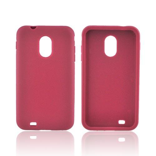 Samsung Epic 4G Touch Silicone Case - Burgundy