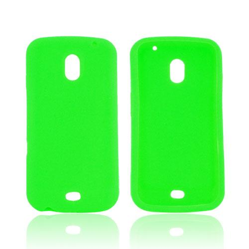 Samsung Galaxy Nexus Silicone Case - Neon Green