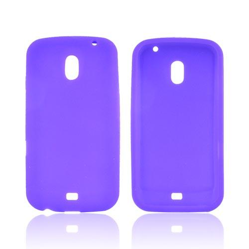 Samsung Galaxy Nexus Silicone Case - Purple