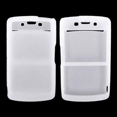 Samsung Intrepid i350 Silicone Case, Rubber Skin - Frost White