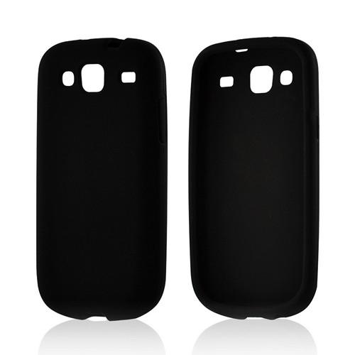 Black Silicone Case for Samsung Stratosphere 3
