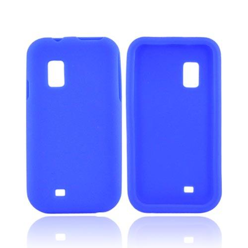 Samsung Fascinate i500 Silicone Case - Blue